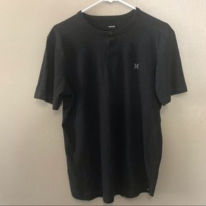 Hurley T-Shirt with 3 buttons